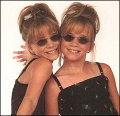 The Mary Kate and Ashley Olsen Empire. Yes, I thought they were super cool.