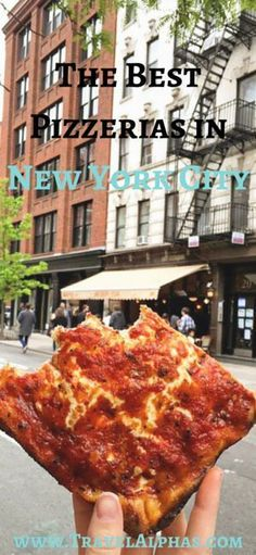 Here are the 7 best pizzerias in New York City. Because you can't visit New York City without having at least one legendary slice of pizza!