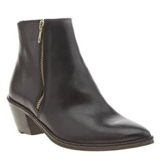 H by Hudson Black Azi Zip Womens Boots H by Hudson add another premium ankle boot to their collection with the Azi Zip boot. The black leather style features double gold zip detailing, with a pointed toe and 6cm block heel for a fierce, fe http://www.MightGet.com/january-2017-13/h-by-hudson-black-azi-zip-womens-boots.asp