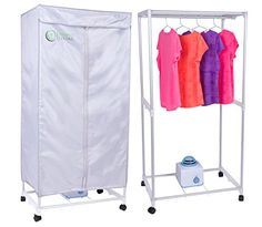 Simple Living Electric Portable Clothing Dryer   Compact .