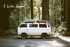 I left my design job in New York In August and bought a VW van. Since then, I have put 30000 miles driving around the west, surfing and camping. These are some of my stories and photos. Feel free to email me @ foster.huntington@gmail.com