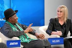 Africa's Next Billion: Jonathan, Nielsen by World Economic Forum, via Flickr
