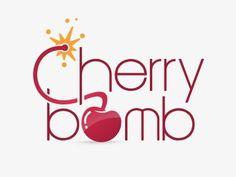 Cherry Bomb Logo by ardi kumara Sweet Cherry Pie, Cherry Baby, Cherry Cherry, Cherry Quotes, Cherry Logo, Bad Candy, Sweet Logo, How To Use Makeup, Party Logo