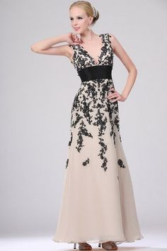 Ankle Length Natural Waist Spring Long Fall Summer Misses Pear Appliques A-Line Evening Dress