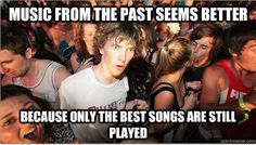 Sudden Clarity Clarence on Old Music