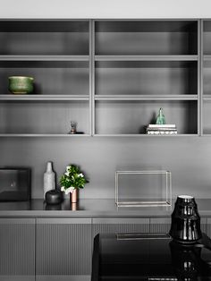 cabinet details | joinery | shelving | Toorak 2 House by Robson Rak - Photo by Brooke Holm