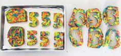 разноцветный пирог приготовление