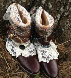 Etsy~Vintage Boho Gypsy Boots size 7 Cowgirl by ThePaintedPalomino