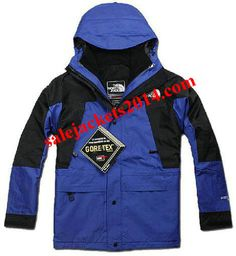 North Face 2013 Gore Tex Transit Men Blue Jackets, Most Items more than 55% off Women's North Face Outlet!,KIds ,Mens TNF Coats