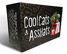 CoolCats & AssHats - The Funnest Adult Party / Drinking Card Game - Silly Gift Ideas Party Card Games, Adult Party Games, Adult Games, Game Party, Fun Board Games, Games To Play, Playing Games, Fun Games, Bored Games