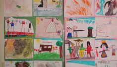 Esposizione dei disegni degli alunni delle scuole elementari di Imperia sul tema del viaggio