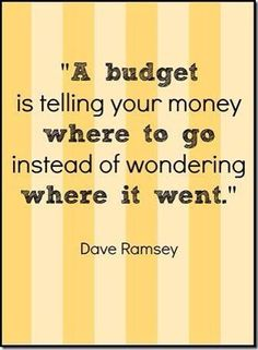 dave ramsey budget - Google Search