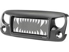 Calandre agressive VAMPIRE pour Jeep Wrangler JK: Calandre agressive VAMPIRE pour Jeep Wrangler JK – Année : 07- Calandre agressive VAMPIRE…