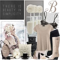 """Simple Beauty"" by emiant on Polyvore"