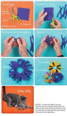If you are craving for a cuddle that relaxes you, try to cuddle with your cat try these Easy DIY Cat Toys You Can Try At Home without losing much of your pocket's weight, and after this, I know… Homemade Cat Toys, Diy Dog Toys, Diy Animal Toys, Diy Toys For Cats, Interactive Cat Toys, Kitten Toys, What Cat, Cat Scratching Post, Cat Crafts