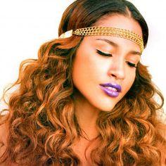 Headkandy dirty looks hair extensions review manhattan highlights gold digger headband by haute headz pmusecretfo Gallery