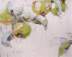 lisa lala Floral Paintings, Fresh Apples, Fruit Art, Palette Knife, Inspiring Art, Clutter, Still Life, The Dreamers, Art Ideas