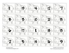 Ordering Numbers 1-20
