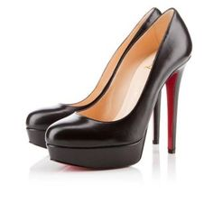 d77dfd2f6e80 Christian Louboutin Canada Official Online Boutique - Bianca 140 Black  Leather available online. Discover more Women Shoes by Christian Louboutin