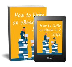 Want to learn how to write an ebook? It's not a long process. We've created 7 steps to help you create your very own ebook Diets For Beginners, Big Picture, Content Marketing, Spelling, Sentences, Create Yourself, How To Start A Blog, Blogging, Ebooks