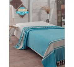 Cuvertura Natural Pique Diamond - Turcoaz Comforters, Blanket, Bed, Furniture, Diamond, Natural, Home Decor, Pique, Creature Comforts