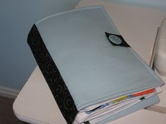tidbits: How to Make a Quiet Book Cover