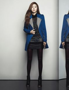 Park Han Byul for Blue Pepe (Fall 2013) #4!
