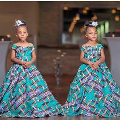 Young Stylish Twins And Parent Serving Chic Ankara Inspiration Source by jessicajombart dress for kids Ankara Styles For Kids, African Dresses For Kids, Ankara Dress Styles, Latest African Fashion Dresses, Dresses Kids Girl, African Children, Children Dress, African Clothes, Children Clothes