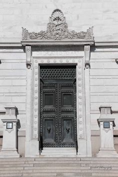 Beaux Arts Entry / Washington, DC / April 2015 https://www.facebook.com/goodallphoto