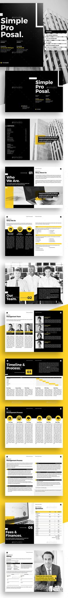 E-Proposal by LeafLove E-Proposal Template This layout is - marketing proposal templates