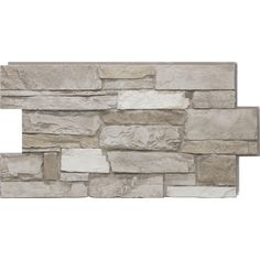 Urestone 24 in. x 48 in. Ledgestone Almond Taupe Stone Veneer Panel - UL2610-45 - The Home Depot