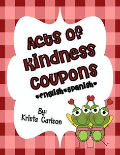 free Acts of Kindness Coupons (Bilingual)
