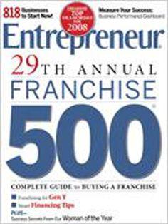 January 2008 issue of Entrepreneur Magazine. Read the stories here: http://www.entrepreneur.com/entrepreneurmagazine/2008/01