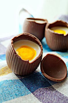 Homemade Chocolate Cadbury Cream Eggs for Easter