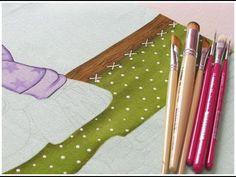 Pintura em tecido - Projeto Zebrinha Jurema - Parte 4 - YouTube