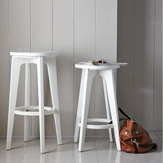New West Elm Stools, 2 for $99 (bar ht, maybe could cut them down?)