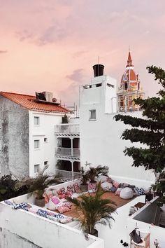 Julia Friedman's travel diary to Cartagena, Colombia with Maaji Swimwear.