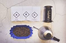Freshly roasted: Each month, subscribers to ABC Coffee Club receive three 50- or 100-gram bags of beans from local roasters. #coffee #japan #history #culture #roasting #japanese
