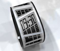 E-Clock wristwatch