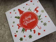 Letterpress Christmas Card. Letterpress door PrestoLetterpress