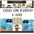 Odd or Even? - Identifying odd and even numbers is an important skill children will need throughout their math education. Being able to identify odd and even numbers prepares children later for division, prime numbers and square roots! This cute and colorful game helps children identify and sort the numbers into categories.  $3.40