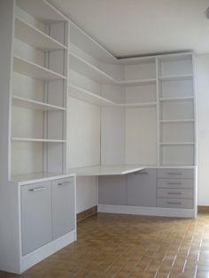 Bureau d angle petit espace id es pour la maison - Idee bureau pour petit espace ...