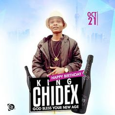 "CONGRATS: Happy Birthday King Chidex - Drop Your well wishes   Whatsapp / Call 2349034421467 or 2348063807769 For Lovablevibes Music Promotion   Agbaho Chidera Victor(born October 21st 1996) better known by his blogging name 'King Chidex'  is a prolific blogger Artist manager Award winning Pr. He started blogging at the age of 17 drawing the internet to himself through his niche ""Music Promotion"". The road through which he passed that brought him here wasn't cool but with perseverance and…"