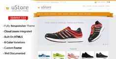 uStore is a responsive, clean and beautiful Open Cart theme. using CSS3 effects…