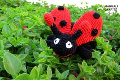 Mariquita amigurumi | Manualicraft - Amigurumi, scrap y costura creativa - Ladybug amigurumi