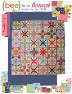 Tumble Dry pattern by LoriHolt on Etsy $14.00 circle templates sold separately