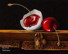 Galerie d'art Au P'tit Bonheur – Mickie Acierno Hyper Realistic Paintings, Small Paintings, Large Painting, Oil Paintings, Still Life Drawing, Painting Still Life, Charlevoix, Still Life Artists, Art Gallery
