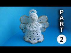 Cómo tejer un Angel para Navidad ~ varios modelos / Tutorial Crochet | Crochet y Dos agujas - Patrones de tejido