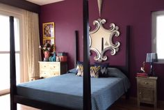 Avilasha's gorgeous Bengaluru home with desi-global decor accents. 2015 : The Best of The Keybunch Indian Inspired Decor, Indian Home Decor, Sofa Upholstery, Upholstered Furniture, Coffee Table Makeover, Global Decor, Home Bedroom, Master Bedroom, Amazing Decor