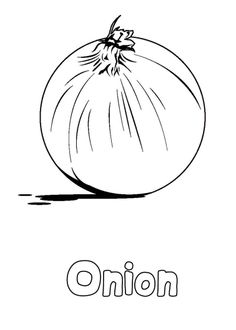 Carrot with leaves vegetables coloring pages for kids